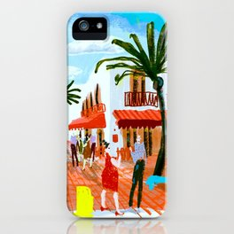 Cafe Square iPhone Case
