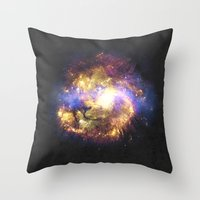 leo Throw Pillows featuring LEO by jerbing