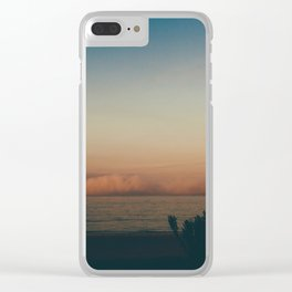 SoCal Sunrise Clear iPhone Case