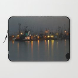 Foggy Harbour Laptop Sleeve