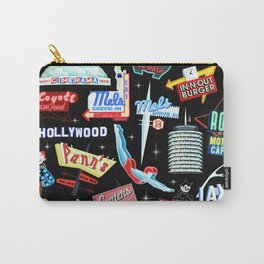 Vintage Signs Pattern #2 Carry-All Pouch