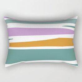 Abstract lavender field Rectangular Pillow