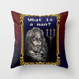 Dracula Jeopardy Throw Pillow