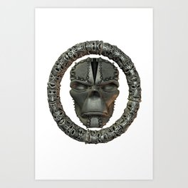 Hogoth .. gothic fantasy Art Print