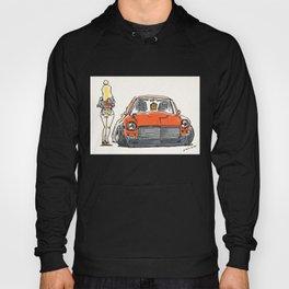 Crazy Car Art 0131 Hoody