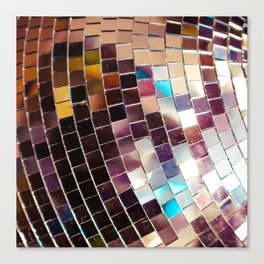 Disco Ball Canvas Print