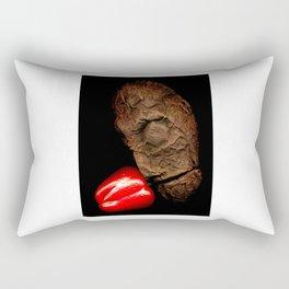 Copperhead mask_21 Rectangular Pillow