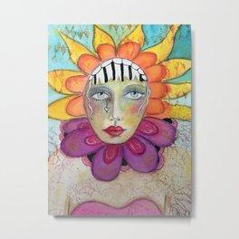 Summer Goddess Metal Print