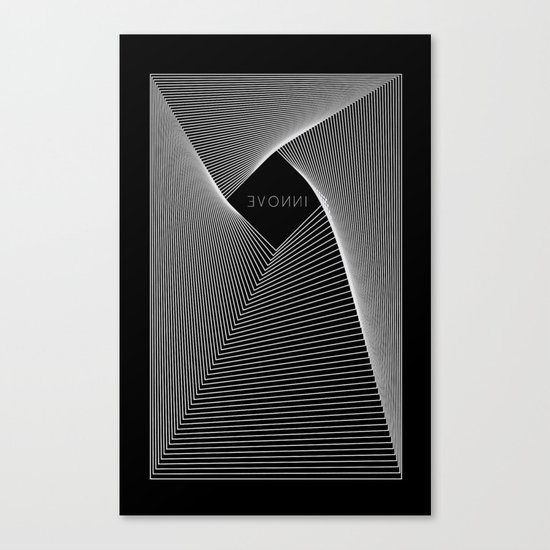 INNOVE - Black edition Canvas Print