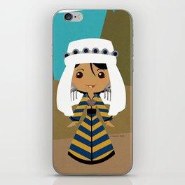 Girls of the World: Uzbekistan iPhone Skin