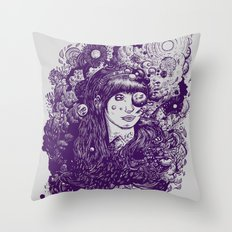 Look At The Light Throw Pillow