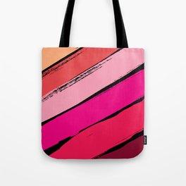 diagonal stripes Tote Bag