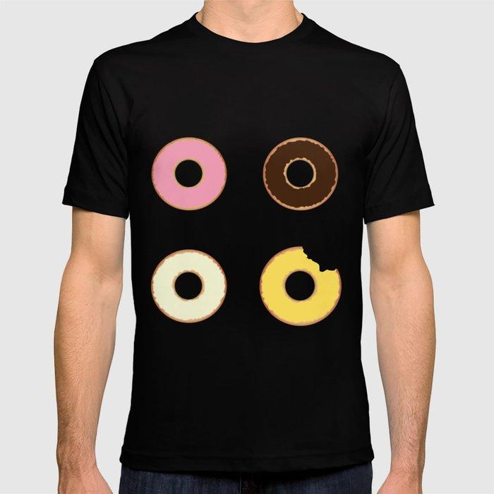 Four Doughnuts (Bitten version) T-shirt