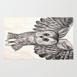 Saw Whet Owl Rug