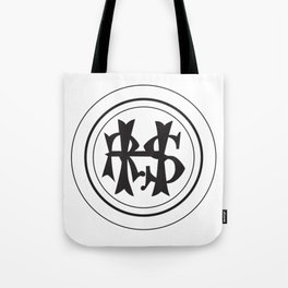 Hudson River State Hospital Initials Tote Bag