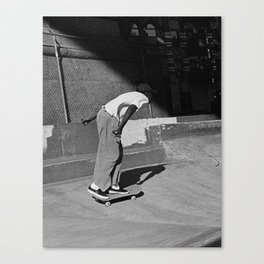 Park Skating Canvas Print