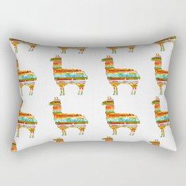 Lots of Llamas Rectangular Pillow