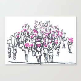 Women's March on Washington Canvas Print