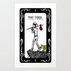 The Fool Tarot Art Print