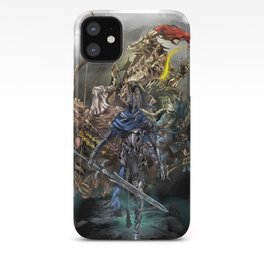 Dark Souls Knights of Gwyn iPhone Case