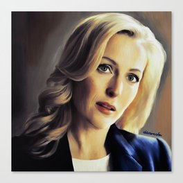 Stella Gibson oli color painting Canvas Print