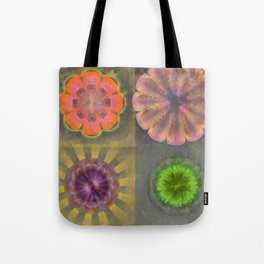 Aetiogenic Actuality Flower  ID:16165-013140-25800 Tote Bag