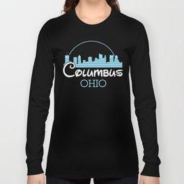 Columbus, Ohio Long Sleeve T-shirt