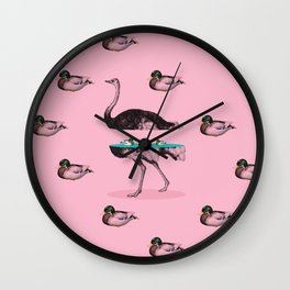 Cut & Paste #8 Wall Clock