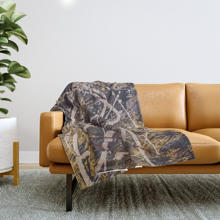 Verness painting Throw Blanket