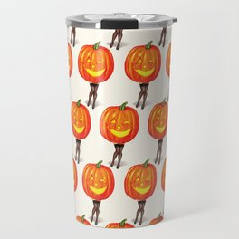 Pumpkin Pin-Up Travel Mug
