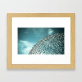 Biosphère Framed Art Print
