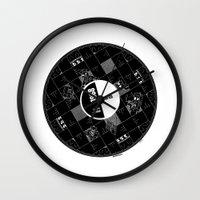 america Wall Clocks featuring America by SimonCARUSO.com