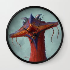 Beak portrait Wall Clock