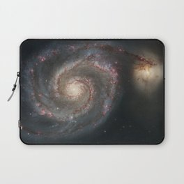 The Whirlpool Galaxy Laptop Sleeve