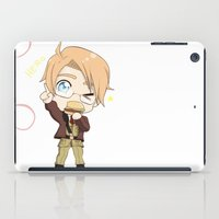 hetalia iPad Cases featuring Chibi!America by Manos-Art