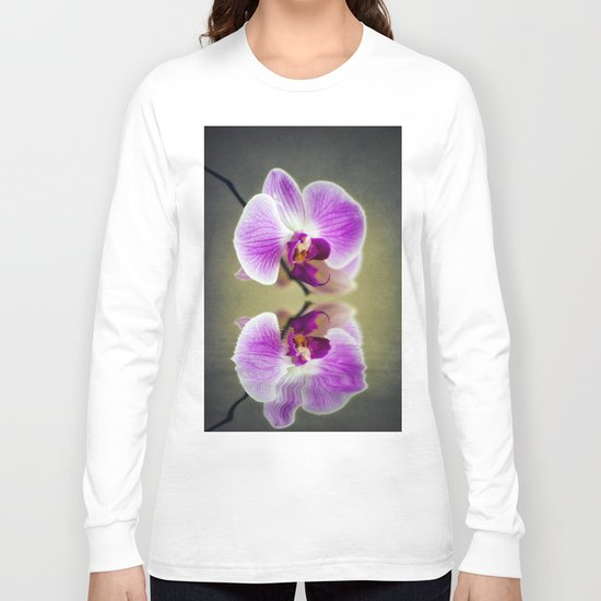 Orchid Reflections Long Sleeve T-shirt