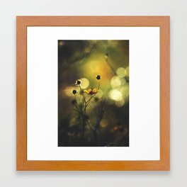 Lucid Dreaming // Sleep Walking Framed Art Print