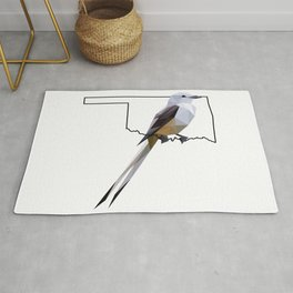 Oklahoma – Scissor-Tailed Flycatcher Rug