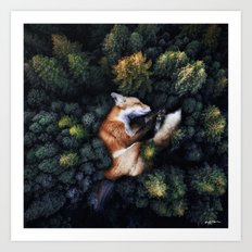 Nature Hugs Art Print