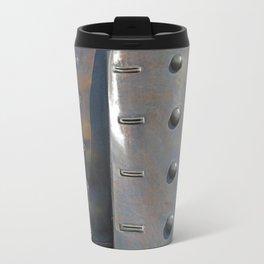 Buttoned, Unbuttoned  Travel Mug
