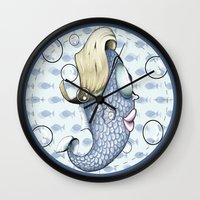 death cab for cutie Wall Clocks featuring Cutie by MaestroAmN