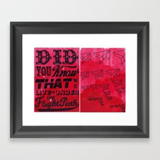 Did You Know.......... Framed Art Print
