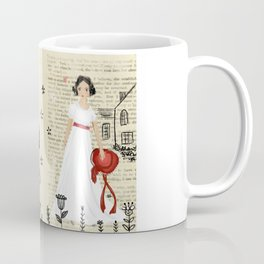 Mr.Darcy of Pemberley and Miss Bennet of Longbourn Coffee Mug