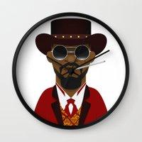 django Wall Clocks featuring DJANGO by Capitoni