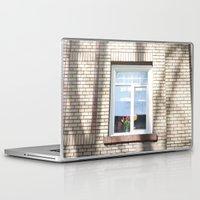window Laptop & iPad Skins featuring Window by RMK Creative