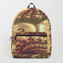Even Circumstance Fractal - Abstract Art Backpack