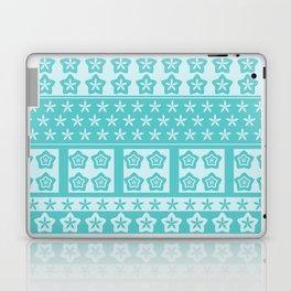 Japanese Style Kawaii Stars Patchwork 2 Laptop & iPad Skin
