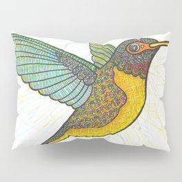 Spotted Hummingbird Pillow Sham