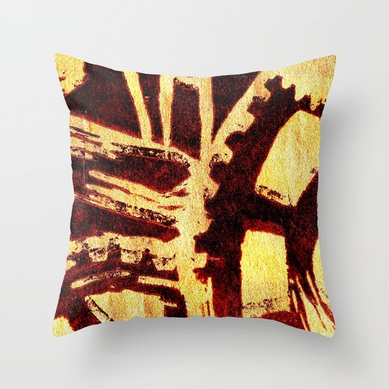 Industrious hell  Throw Pillow