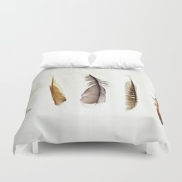 Five Feathers Duvet Cover